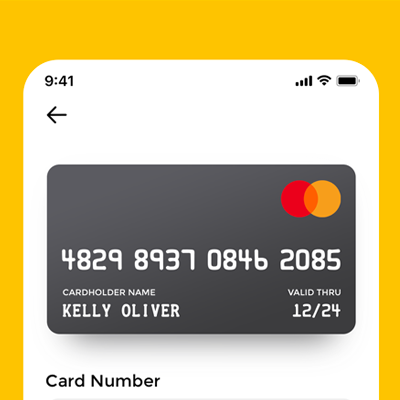 Credit Card Checkout form / Daily UI
