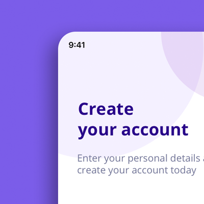 Sign up concept for Daily UI Challenge